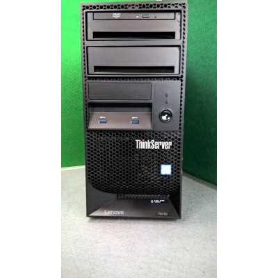 Lenovo ThinkStation TS150 Xeon E3-1225 V6 3.3GHZ 16GB RAM 6TB HDD USB3 Windows 10 Professional