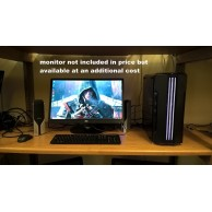 '1st Player' Core i7 Gaming Computer 3.3GHZ 16GB 480GB SSD + 4TB SATA Radeon RX580 8GB Graphics