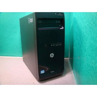 HP Pro 3500 PC Intel Core i3 @ 3.3GHZ 4GB RAM, 250GB HDD, Dual Screen Support, Win 10