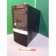 HP Intel Dual Core Cheap Windows 10 Pro Computer 4GB 250GB DVDRW Drive