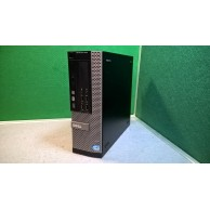 Dell Optiplex 7010 SFF i5 3.2ghz 16GB RAM 180gb SSD c/w 2 Graphics Cards for Quad 4 Screen Support