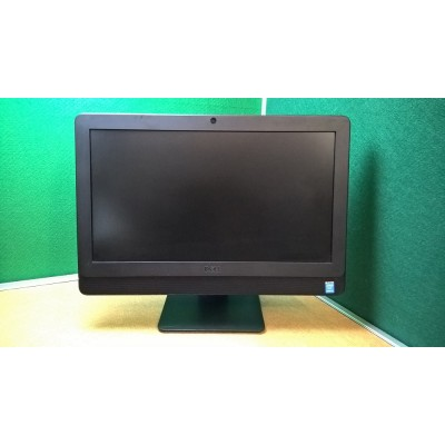 """Dell Optiplex 3030 All-in-One i3 3.6GHZ 4GB 500GB WIFI Webcam DVDRW 19.5"""" Ideal for Home Schooling!"""
