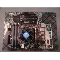 GIGABYTE GA-B85M-D3H Micro ATX Socket 1155 Motherboard c/w 4th Gen Intel Core i3 3.5ghz CPU