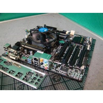 GIGABYTE GA-B85M-D3H Micro ATX Socket 1155 Motherboard c/w 4th Gen Intel Core i3 3.7ghz CPU