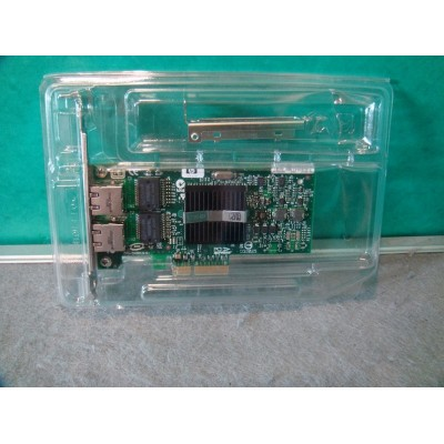 HP NC360T Dual Port PCI-e Gigabit Ethernet Network Card c/w Low Profile Bracket 412651-001