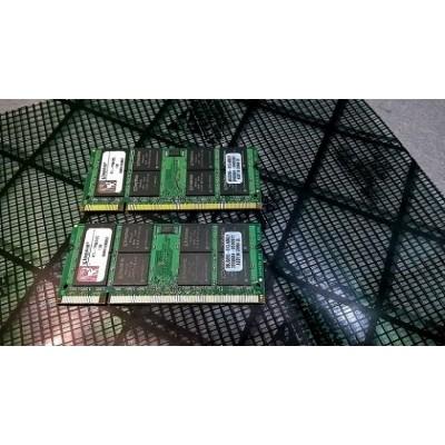 4GB (2x2GB) Kingston DDR2-667 PC2 5300 Laptop Ram Memory Sodimm KTL-TP667/2G