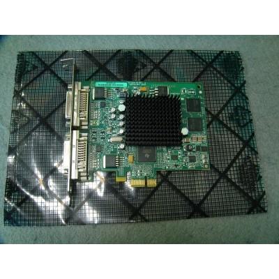 Matrox Millennium G550 PCIe Dual Head DVI Silent c/w VGA Converters (G55-MDDE32F)