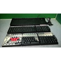 ZBoard Gaming Keyboard Base with Two Interchangeable Swappable Keysets USB UK Layout