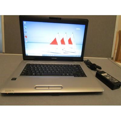 Toshiba Satellite Pro L450D Athlon Dual Core QL65 4GB 120GB SSD WIFI HDMI DVDRW
