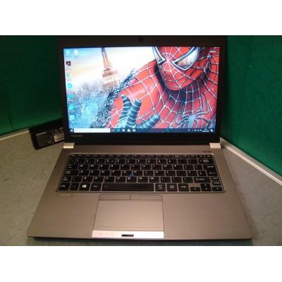 Toshiba Portege Z30-A-1FD Laptop i5 4210U 8GB Ram 128GB SSD Backlit Keyboard Win 10