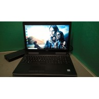Dell Precision 7520 i5 7440HQ 2.8GHZ 16GB 256SSD+1TB SATA Nvidia Quadro M2200 4GB Graphics FHD IPS v2