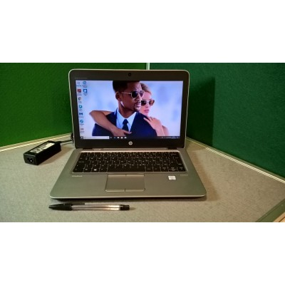 "HP Elitebook 820 G3 Laptop 6th Gen Core i5 6300U 2.4GHZ 8GB 256GB SSD 12.5"" Screen Windows 10 USB C"