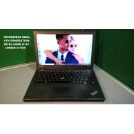 "Lenovo Thinkpad X240 Ultrabook Core i5 4th Gen 2.5ghz 4GB 500GB 12.5"" LED Win 10 GB"