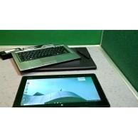 Fujitsu Q702 Windows 10 Tablet/2 in 1 i5 1.8ghz 4GB Ram 256 SSD Win10 Free Keyboard,Stylus & Sleeve!