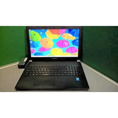 "Lenovo Laptop B50-70 Core i3 4005U 4GB RAM 500GB HDD Webcam 15.6"" Screen Win 10"