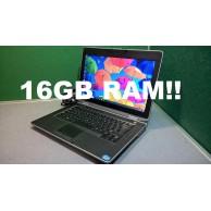 """Dell Latitude E6430 i5 3320M 2.6GHZ 16GB Men 256GB SSD 1600x900 HD 14"""" Screen"""