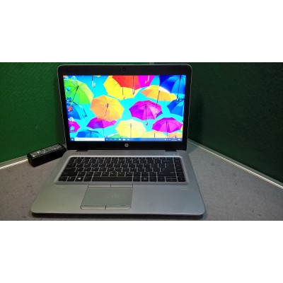 """HP Elitebook 840 G4 7th Gen i5 2.6GHZ 8GB 512SSD USB3 USB C Backlit K/board FHD 14"""""""
