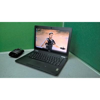 Dell Latitude E7270 i5 Laptop 6300U 8GB Ram 256SSD WIFI Webcam Full HD Screen Backlit K/board