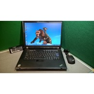 Lenovo ThInkpad R61e Core 2 Duo 2.1GHZ 4GB RAM 160GB HDD WIFI Windows 7 - Free Mouse
