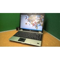 "Windows XP Laptop HP Elitebook 6930p P8600 2.4GHz 4GB 320GB DVDRW 14"" Screen"