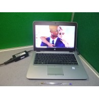 """HP Elitebook 820 G3 6th Gen i5 2.4GHZ 8GB 256GB SSD 12.5"""" Webcam WIFI 10 Pro 'Grade B'"""