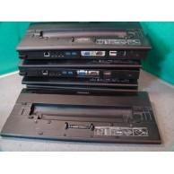 Toshiba Hi Speed Port Replicator II PA3916B-1PRP Dock with HDMI DP and USB3 Bundle of 7