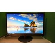 "AOC E2470SWHE Grade A Full HD 24""(23.6"")Widescreen 2xHDMI 1920x1080 LED Monitor"