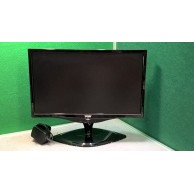 "DGM L-1962WD 'Grade A' 19"" Black Widescreen LCD Monitor with Cables"