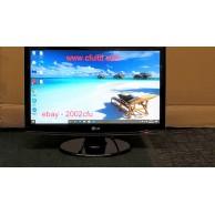 "LG Flatron W2253V-PF Widescreen 22"" Black LCD Monitor 2ms HDMI Full HD1920 x 1080 c/w Cables"