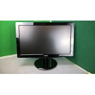"""Phillips 196V3L 'Grade A' 19"""" (18.5"""") Black LED Monitor with VGA & DVI Connections.1"""