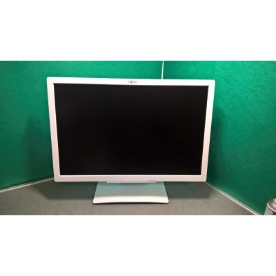 "Fujitsu B22W-7 Grade A  22"" LED 1680 X 1050 White Monitor"