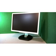 "Fujitsu B22W-7 Grade A  22"" LED 1680 X 1050 White Monitor with Cables"