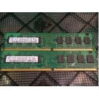 4 x 1GB DDR2 5300 PC2 667 DESKTOP RAM NON ECC Tested and Working