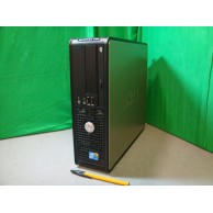 DELL OPTIPLEX INTEL DUAL CORE GENUINE WINDOWS 7-2GB-80GB-DVDROM DRIVE